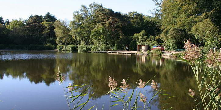 The main lake near where we hold our NLP courses