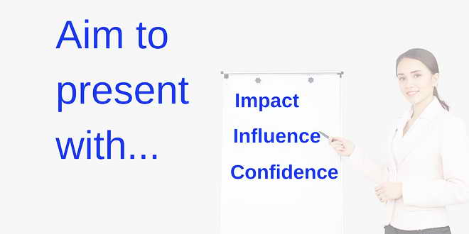 Present with Impact and Cpnfidence