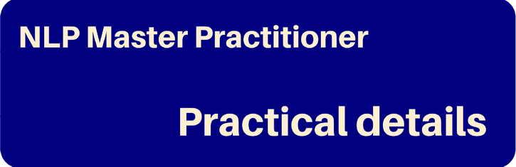 NLP Master Practitioner - Details - Pegasus NLP