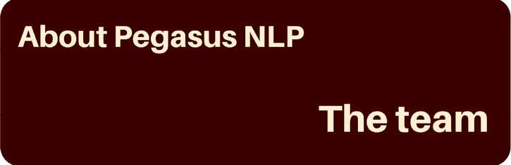 The Pegasus NLP Training Team
