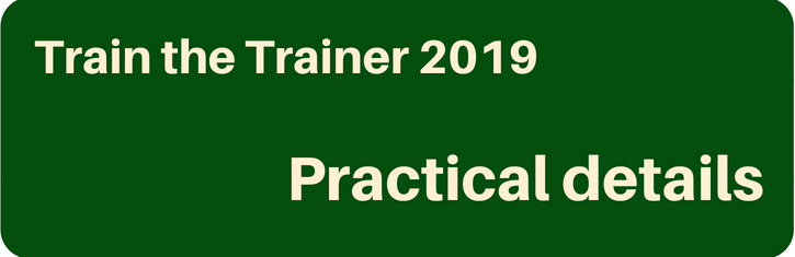 Train the trainer - Practical Details