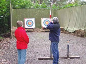 Archery on our NLP Practitioner Training Programme (1)
